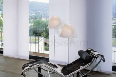 Trokanalne panelne zavese bez mehanizma
